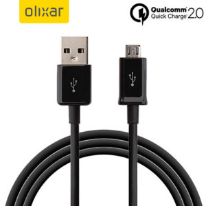 This 1 metre data / charging cable allows you to connect any device such as phones to a PC via Micro USB. Compatible with super fast Qualcommm Quick Charge 2.0 charging rates when connected to supporting hardware.