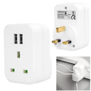 Designed to quickly charge tablets, smartphones and so much more, the Energenie Universal Folding Dual USB Mains Adapter delivers 3.1 Amps to fast-charge even the largest of devices. Compact and portable this universal charger can be taken anywhere.