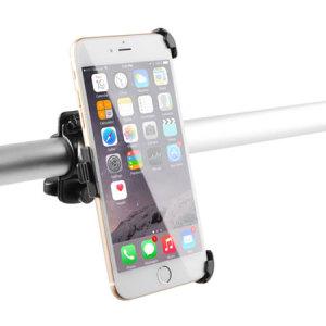 Designad för de flesta cyklar och passar både raka och böjda styren.  Den här cykelhållaren är enkel att installera och har en säker montering så att din iPhone 6S Plus / 6 Plus inte faller av.