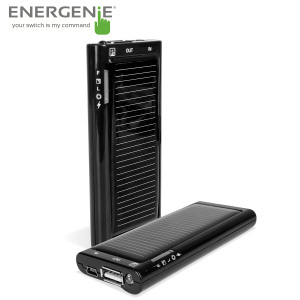 The Energenie Solargenie is a 1200mAh Power Bank with solar charging and is the perfect companion to ensure your smartphone has enough charge to power your app usage throughout the day and even includes a built-in torch.