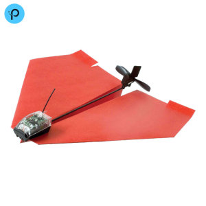 Take to the skies with this ingenious app-controlled paper airplane, complete with rechargeable motor and rudder. Aerobatic greatness and unlimited fun awaits! Do you have the right stuff, pilot?