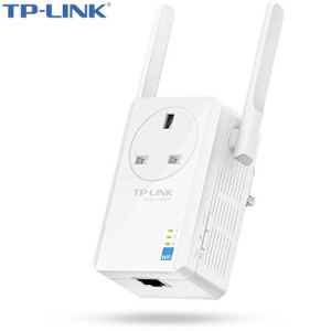 TP-LINK 300Mbps WiFi Range Extender with AC Passthrough - White