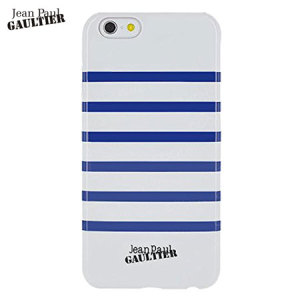 Add a touch of style to your iPhone 6S / 6 with the Jean Paul Gaultier Sailor Striped Navy hard shell case in white / navy. Offering excellent protection in a slim package, this case not only looks great, it also feels good in hand too.