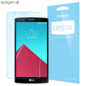 Spigen Crystal LG G4 Screen Protector - Three Pack