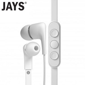 The a-JAYS Five for iOS are made to match your iPhone, iPad and iPod and let you enjoy and get as much out of them as possible. In white.