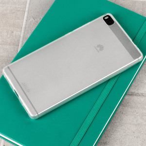 FlexiShield Huawei P8 Case - Frost White