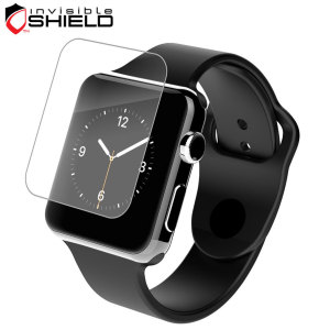 Protect your Apple Watch's screen from scratches while still getting HD clarity with the InvisibleSHIELD HD screen protector for the Series 3, 2 and 1 38mm Apple Watch.