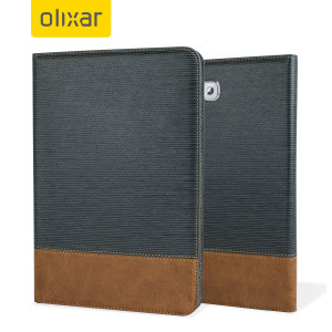 Beautifully crafted in a light blue fabric and with a leather style footer, this wallet case from Olixar, is the perfect way to protect your Samsung Galaxy Tab A 8.0, whilst storing your credit cards, ID and cash in one convenient, sophisticated package.