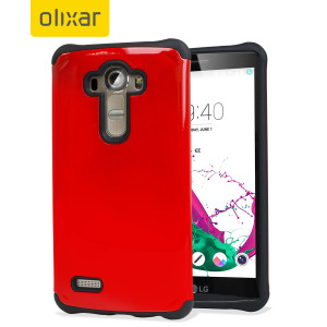 Give your LG G4 optimum drop protection with this incredibly sleek and impact-resistant ArmourLite case in red from Olixar.