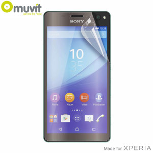 Avoid scuffs and scratches on your Sony Xperia C4 with this 2 pack of matte and glossy screen protectors by Muvit, designed to reduce glare and fingerprints.