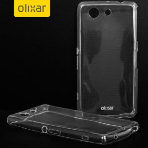 Op maat gegoten voor de Sony Xperia Z4 Compact, Deze Ultra-Thin FlexiShield Gel case van Olixar biedt een slanke pasvorm en duurzame bescherming tegen beschadiging tijdens het toevoegen van een prikkie in grootte en gewicht.