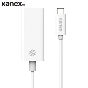 Conecte mediante cable Ethernet su dispositivo con puerto USB-C gracias a este cable fabricado por Kanex.