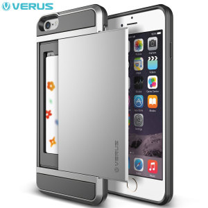 Coque iPhone 6 Plus Verus Damda - Argent Satiné
