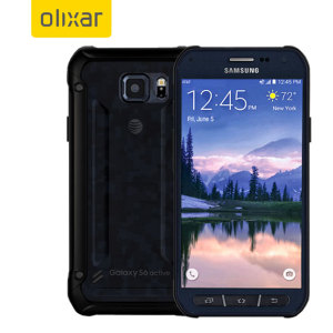 Custom moulded for the Samsung Galaxy S6 Active, this black FlexiShield case by Olixar provides slim fitting and durable protection against damage.