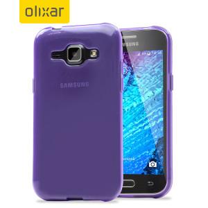 Esta funda para el Samsung Galaxy J1 proporciona la protección de una funda de cristal junto con la resistencia de una funda de silicona.