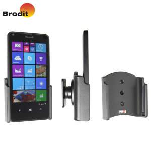 Support voiture Microsoft Lumia 640 Brodit Passif Pivot Inclinable