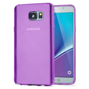 FlexiShield Samsung Galaxy Note 5 Gel Case - Purple