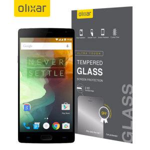 Este protector de pantalla de vidrio templado para el OnePlus 2 ofrece dureza, alta visibilidad y sensibilidad a la pantalla de tu smartphone.
