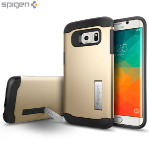 Coque Samsung Galaxy S6 Edge+ Spigen Slim Armor - Champagne Or