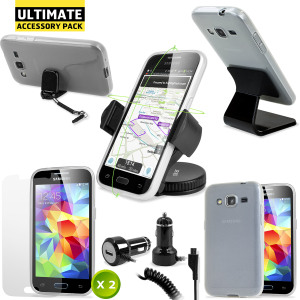 The Ultimate Pack for the Samsung Galaxy Core Prime consists of fantastic must have accessories designed specifically for the Samsung Galaxy Core Prime.