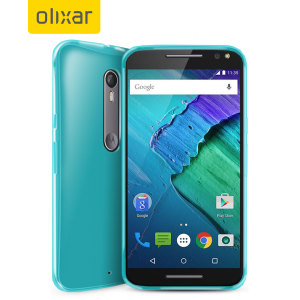 Custom moulded for the Moto X Style, the FlexiShield case in blue provides slim fitting, stylish design and protection against damage, keeping your device looking great at all times.