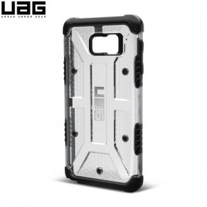 Urban Armour Gear for the Samsung Galaxy Note 5 features a protective TPU case in ice clear with a brushed metal UAG logo insert for an amazing design.