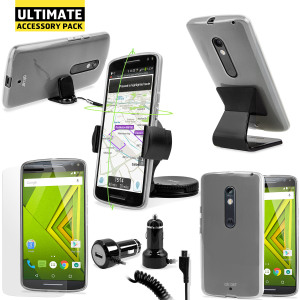 The Ultimate Pack for the Motorola Moto X Style consists of fantastic must have accessories designed specifically for the Motorola Moto X Style (also known as the Moto X Pure Edition).