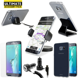 L'Ultimate Pack contiene 6 imperdibili accessori, disegnati appositamente per il tuo Samsung Galaxy S6 Edge+.