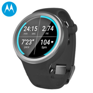 Motorola Moto 360 Sport 2nd Gen SmartWatch - Black