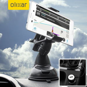 Essential items you need for your smartphone during a car journey all within the Olixar DriveTime In-Car Pack. Featuring a robust one-handed phone car mount and car charger with additional USB port for your Sony Xperia M4 Aqua.