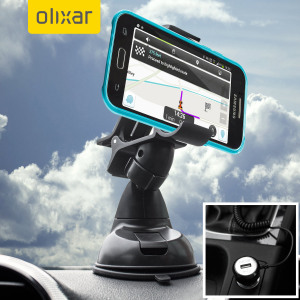 Olixar DriveTime Samsung Galaxy J1 2015 Car Holder & Charger Pack
