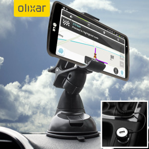 Essential items you need for your smartphone during a car journey all within the Olixar DriveTime In-Car Pack. Featuring a robust one-handed phone car mount and car charger with additional USB port for your LG G3.