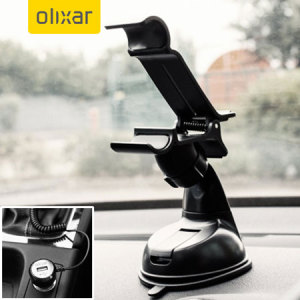 Essential items you need for your smartphone during a car journey all within the Olixar DriveTime In-Car Pack. Featuring a robust one-handed phone car mount and car charger with additional USB port for your HTC Desire 620.