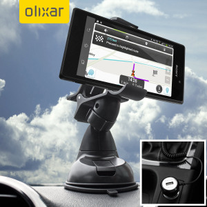 Essential items you need for your smartphone during a car journey all within the Olixar DriveTime In-Car Pack. Featuring a robust one-handed phone car mount and car charger with additional USB port for your Sony Xperia M2.