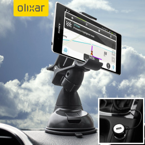 Essential items you need for your smartphone during a car journey all within the Olixar DriveTime In-Car Pack. Featuring a robust one-handed phone car mount and car charger with additional USB port for your Sony Xperia Z3+.
