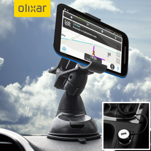 Essential items you need for your smartphone during a car journey all within the Olixar DriveTime In-Car Pack. Featuring a robust one-handed phone car mount and car charger with additional USB port for your Moto G 2nd Gen.