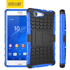 Protect your Sony Xperia Z3 Compact from bumps and scrapes with this blue ArmourDillo case. Comprised of an inner TPU case and an outer impact-resistant exoskeleton, the ArmourDillo provides robust protection and supreme styling.