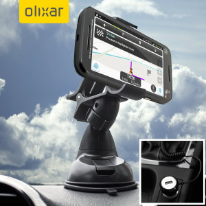 Essential items you need for your smartphone during a car journey all within the Olixar DriveTime In-Car Pack. Featuring a robust one-handed phone car mount and car charger with additional USB port for your Moto G 3rd Gen.