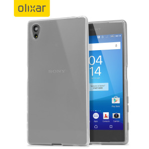FlexiShield Sony Xperia Z5 Case - Frost White