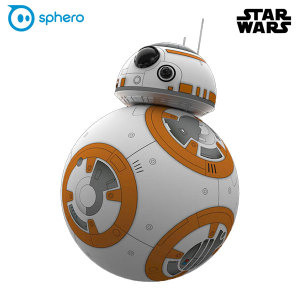 This is the droid you've been looking for! The BB-8 from Sphero is an intelligent droid that listens, responds and features an adaptive personality to provide the most authentic Star Wars experience in the galaxy.
