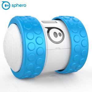 Introductie van de Sphero Ollie met een nieuwe buisvormige ontwerp, extreem robuuste robot bestuurd door je smartphone die indrukwekkende tricks uitvoert en verovert elk terrein met aanpasbare banden en accessoires.