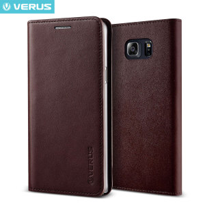 A sophisticated lightweight wine genuine leather case. The Verus genuine leather wallet case offers creative design and unique style with perfect protection for your Samsung Galaxy Note 5, as well as featuring slots for your cards, cash and documents.