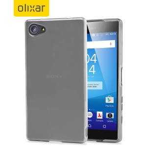 Custom moulded for the Sony Xperia Z5 Compact, this frost white FlexiShield gel case provides excellent protection against damage as well as a slimline fit for added convenience.