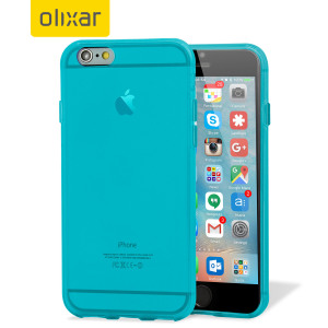 Custom moulded for the iPhone 6S Plus, this light blue FlexiShield gel case from Olixar provides excellent protection against damage as well as a slimline fit for added convenience.
