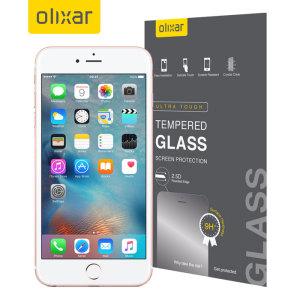 Este protector de pantalla de vidrio templado ultra-delgado para el iPhone 6S Plus ofrece dureza, alta visibilidad y sensibilidad todo en uno.