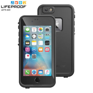 Make your phone waterproof and experience the freedom to surf, sing in the shower, ski, snowboard, work on construction sites and have true iPhone 6S Plus freedom anywhere you go with the LifeProof Fre case in black!