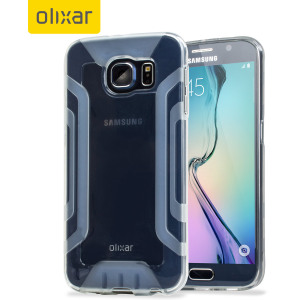Custom moulded for the Samsung Galaxy S6, this 100% clear FlexiGrip gel case from Olixar provides superior protection against damage as well as a slimline fit for added convenience. The reinforced framework also increases grip significantly.