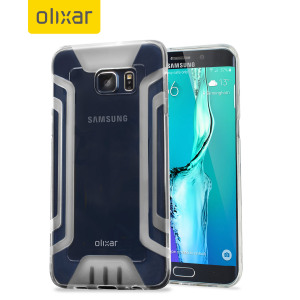 Coque Samsung Galaxy S6 Edge Plus FlexiGrip Gel – Transparente