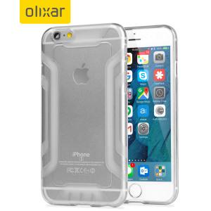 Op maat gegoten voor de iPhone 6S Plus / 6 Plus. Deze FlexiGrip gel case van Olixar biedt superieure bescherming tegen beschadiging en een slanke pasvorm voor extra gemak. Het versterkte kader verhoogt ook aanzienlijk de grip op je toestel.