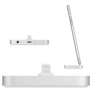 Keep your Apple iPhone fully charged and ready to go with this small and discreet charge and sync dock with Lightning connector and audio out port.